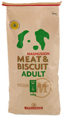 14 kg sekk Magnusson Meat & Biscuit Adult