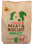 4,5 kg sekk Magnusson Meat & Biscuit Adult